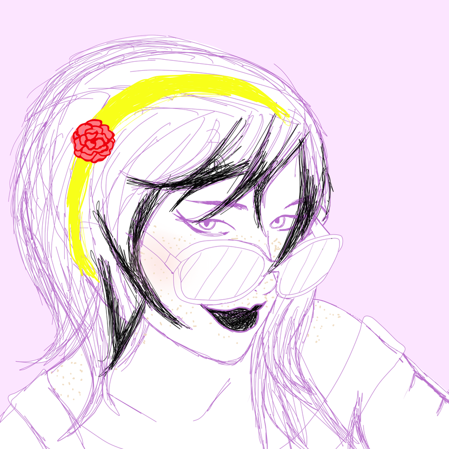A Wip For Ariel's hecka cute Rose by tenacious-oracle
