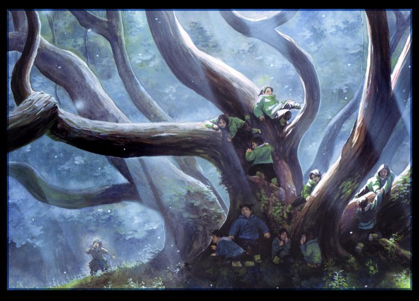 the tree by kokecit