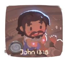 He clean us