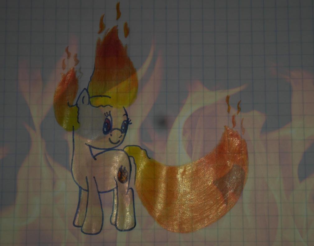 Fire Pony by marikuna1998