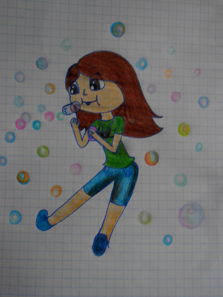 Bubbles! xD by marikuna1998