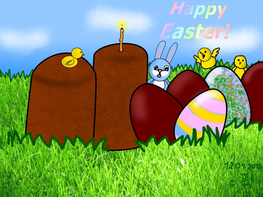 Happy Easter!! by marikuna1998