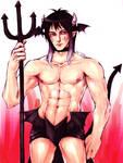 Demon Guy by Dark-SpectrumDS