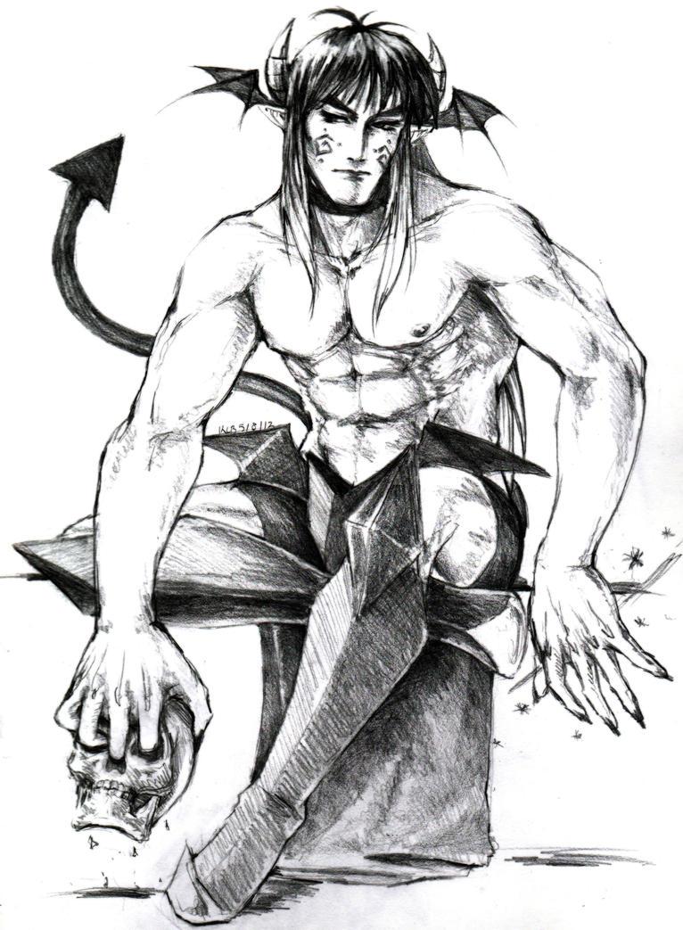 Demon Guy 5-9-12 by Dark-SpectrumDS