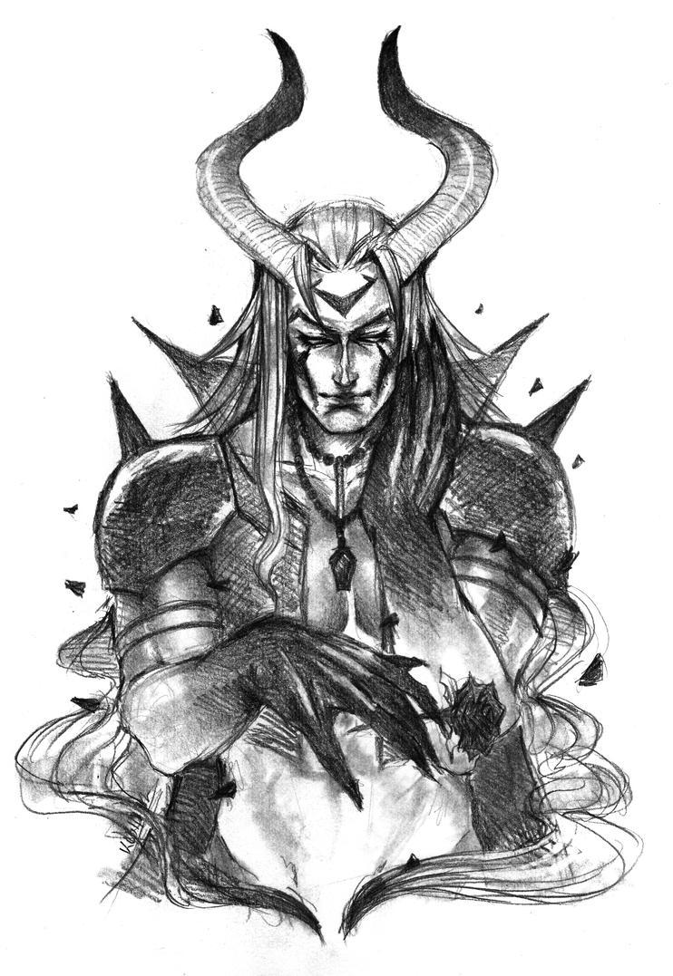 Dante Mandrake's Older Brother by Dark-SpectrumDS