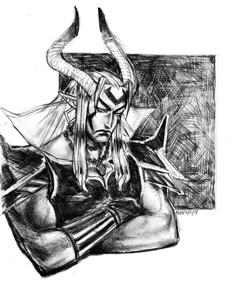 Adem warm up drawing by Dark-SpectrumDS