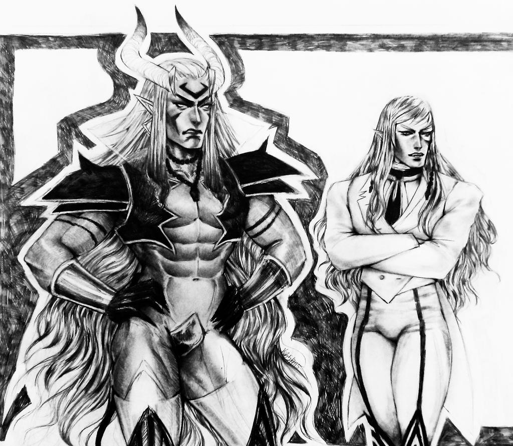 Adem and Dante 5-4-15 by Dark-SpectrumDS