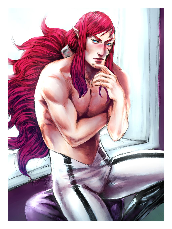 TC: Dante Mandrake - 3. New Hairstyle -c by Dark-SpectrumDS