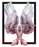 Harpy Boy Ouranos 3-12-17 by Dark-SpectrumDS