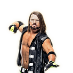 WWE AJ STYLES RENDER PNG 2020