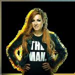 WWE BECKY LYNCH RENDER PNG