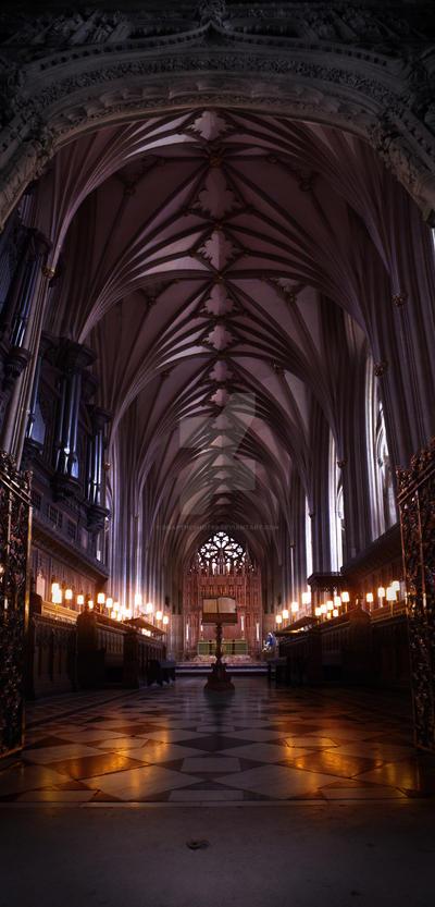 Bristol Cathedral Interior by Snaptheshot89