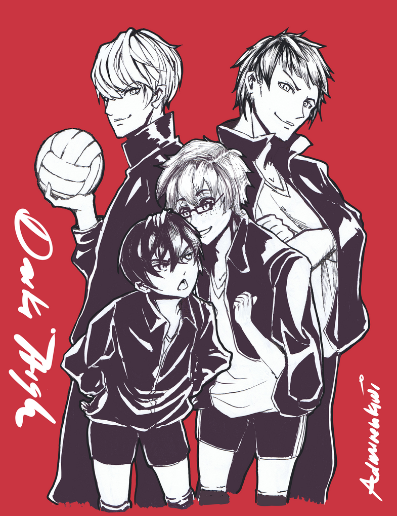 POK: Daiki Spikers by AdmirenKiwi