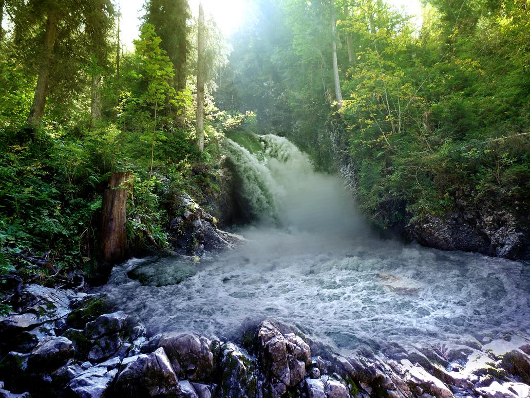 Waterfall by T3rmin8tor