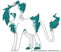 my own foxbeast by onelittlefurrycat