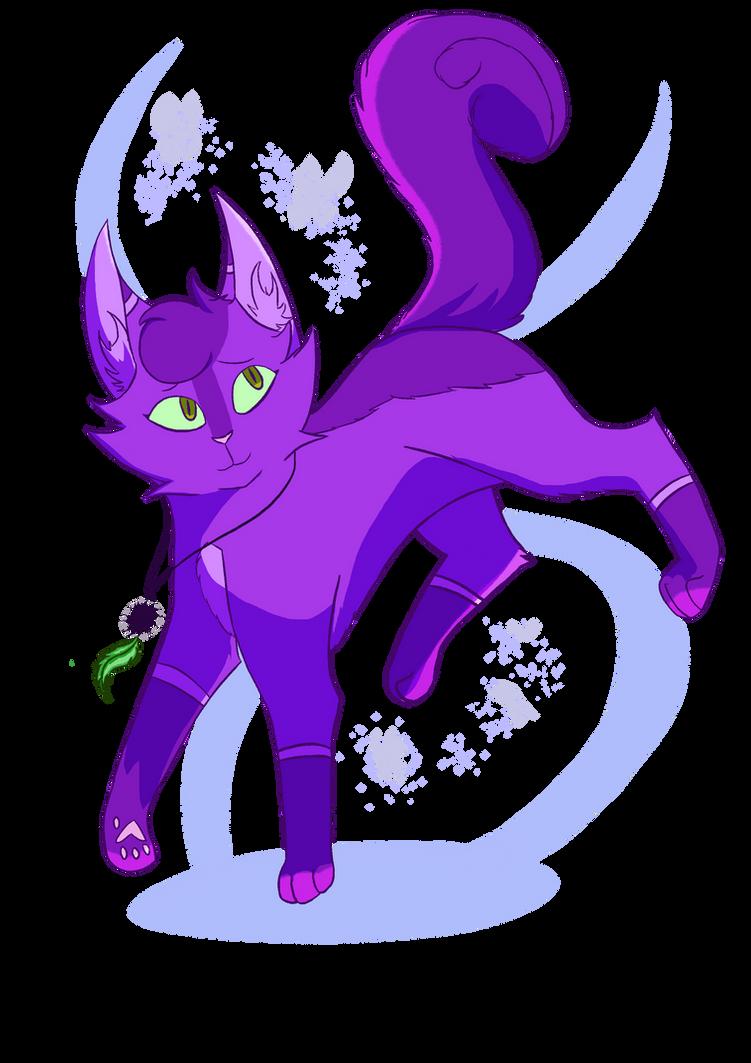 Art Fight attack #1 - MistyMuffin by Bluesunrisecat