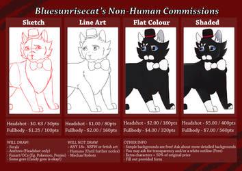Bluesunrisecat / Lyra Commission Information by Bluesunrisecat