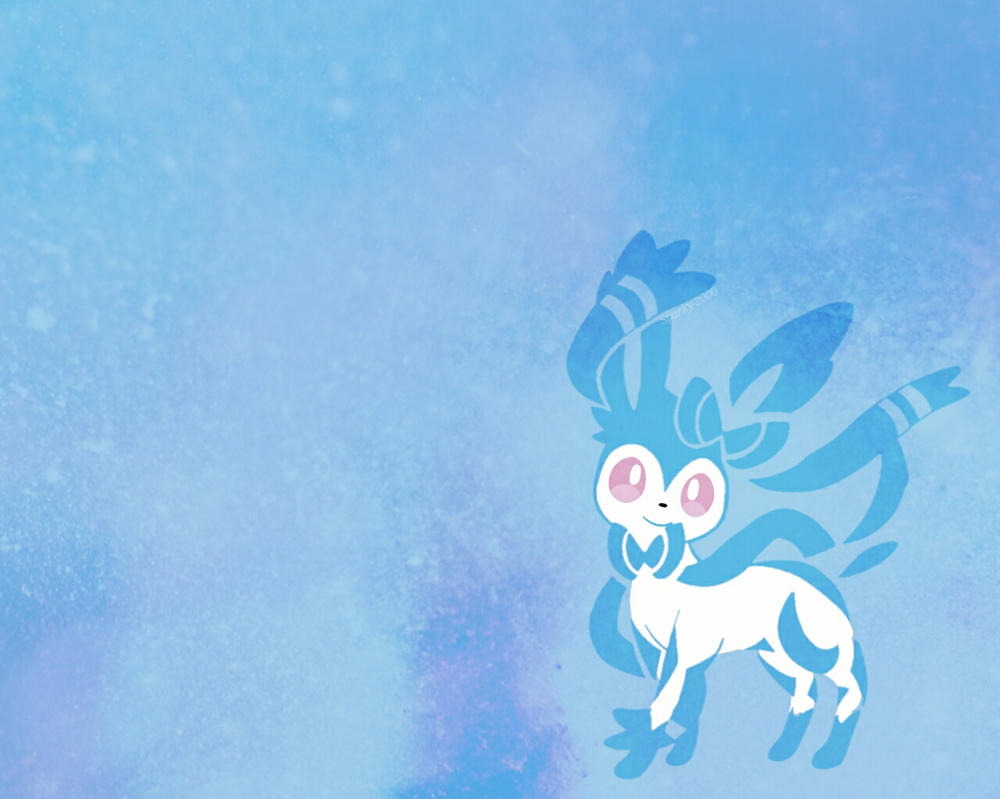 Sylveon Shiny Wallpaper By Sparky 2000