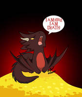 The Hobbit - Baby Smaug by SoffeeD