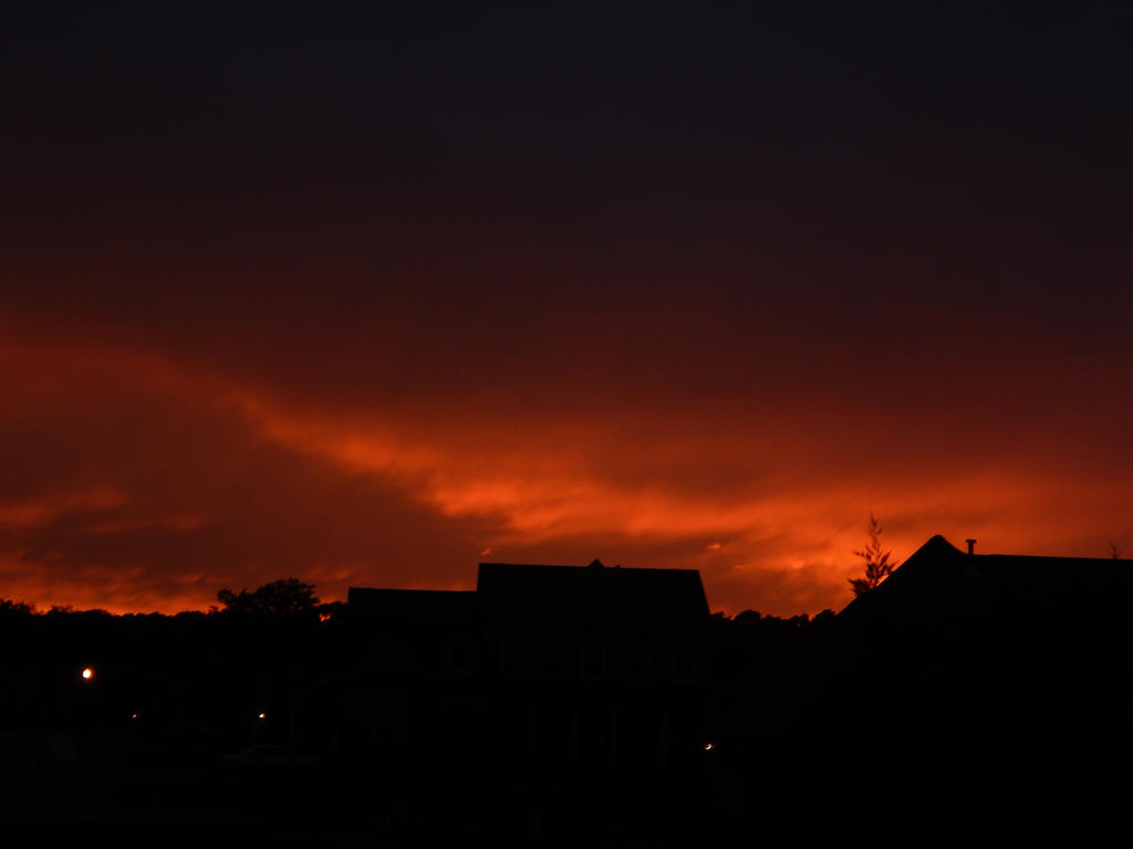 Fiery Sunset #10 by superSeether