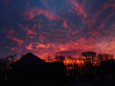 Frontyard Sunrise #6 Firestorm