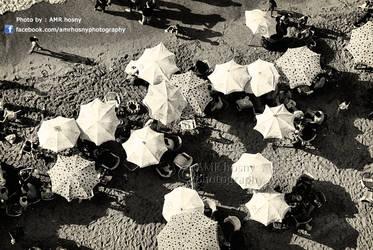 Umbrellas by amrhosny