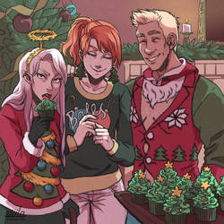 Holiday Cheer! by itsadamnedeve