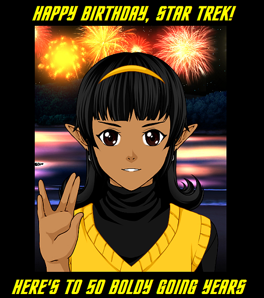 Happy 50th, Star Trek! by Captain-Chaotica
