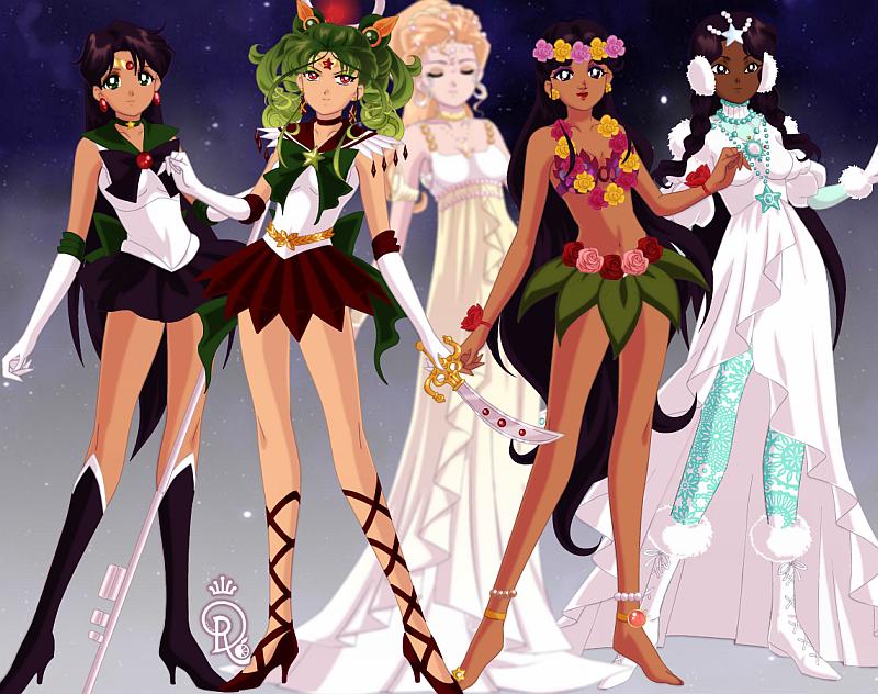 The Dwarf Planet Senshi by Captain-Chaotica