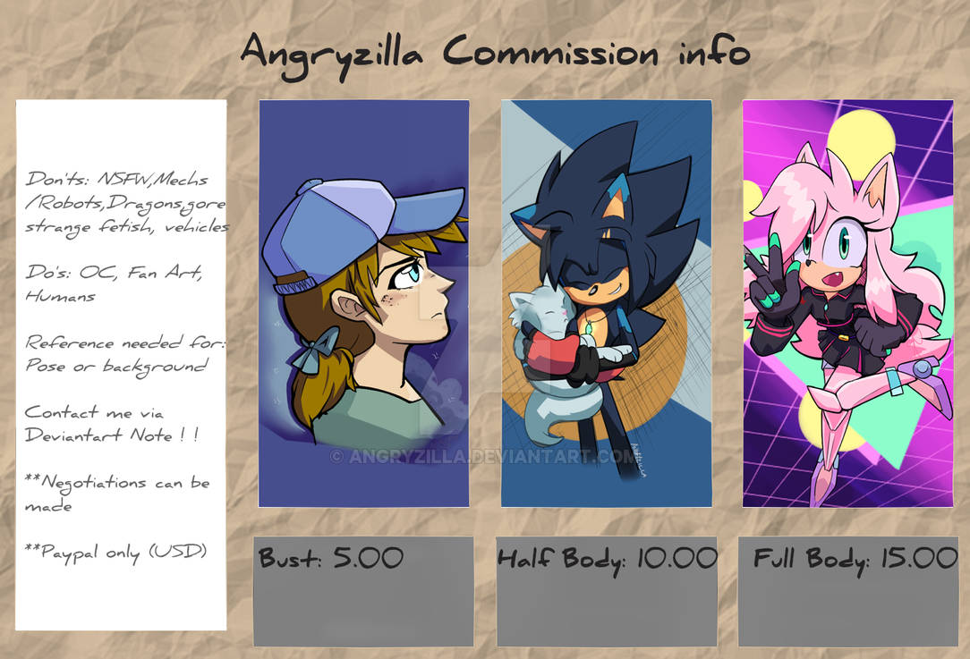 Commissions Info (CLOSED) FULL