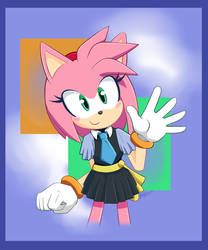 Amy Rose Sonic X Outfit