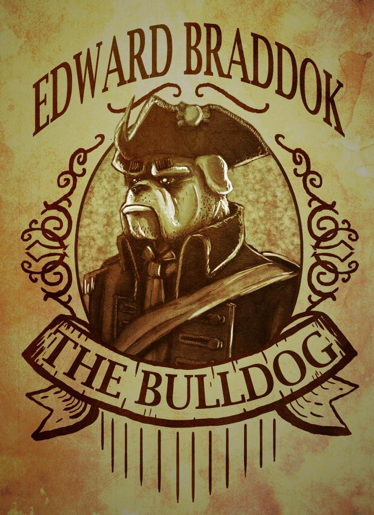 Edward Braddock - The Bulldog by HozZAaH
