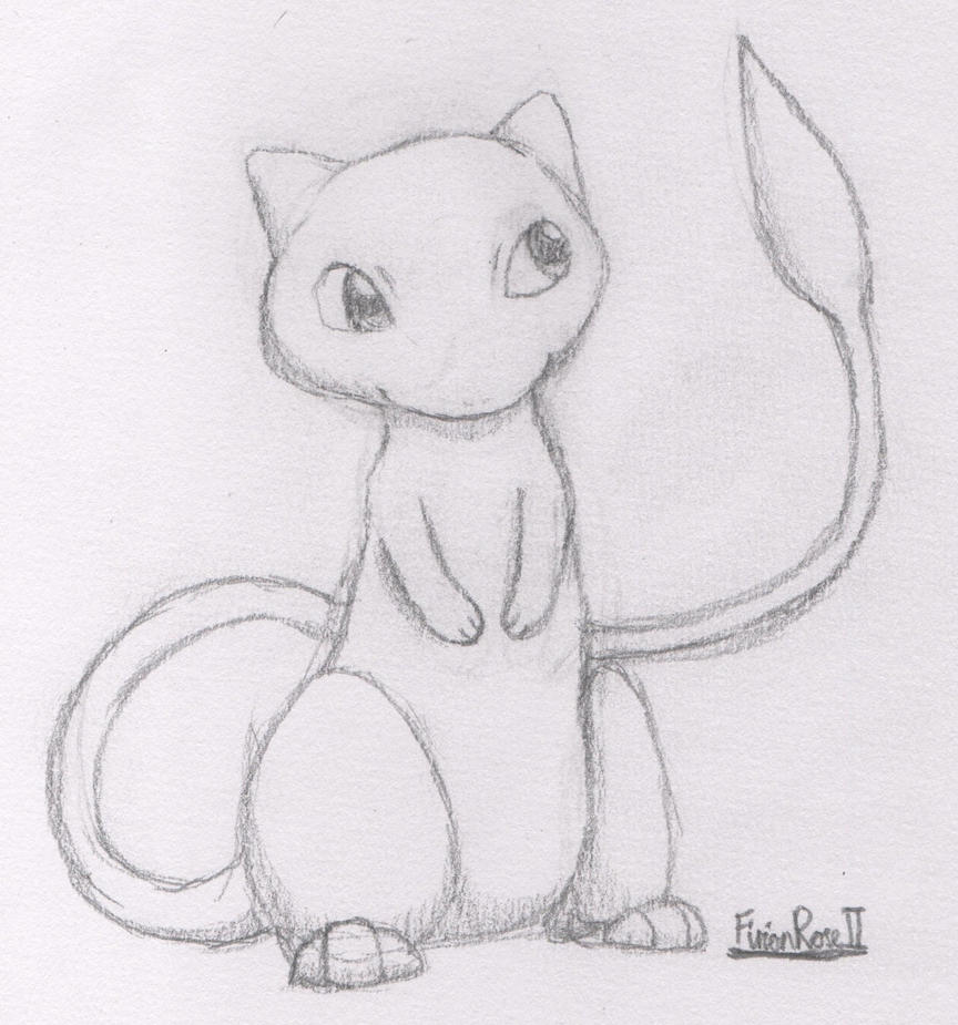 Mew by FirionRoseII