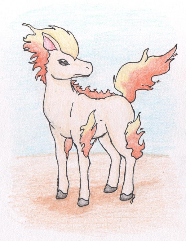 Ponyta by FirionRoseII