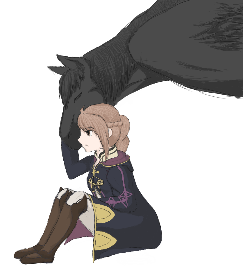 Lydia - Fire Emblem Awakening Avatar by FirionRoseII
