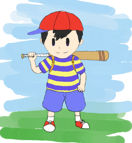 Ness by FirionRoseII