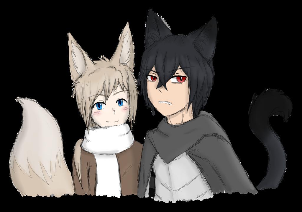 Keiran and Haru by FirionRoseII