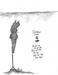 October Silhou 6 - Fish by MiaEikuso
