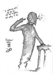 October Silhou 5 - Monocle by MiaEikuso