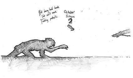October Silhou 2 - Chain by MiaEikuso