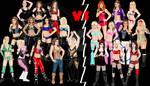 Divas vs Knockouts