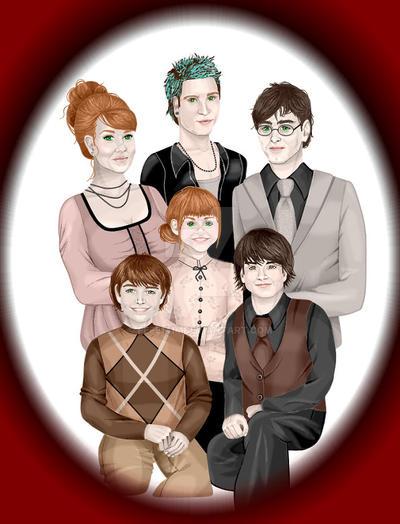 Harry Potter's Family by Fefe1414