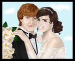 Ron and Hermione get MARRIED
