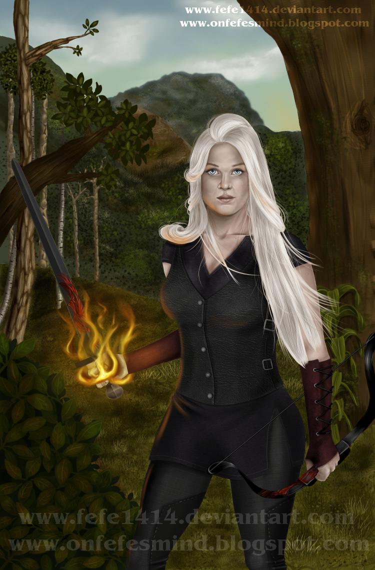 The Obsidian Phoenix by Fefe1414
