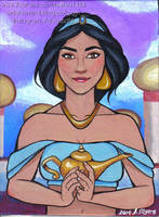 Princess Jasmine by Fefe1414