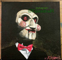 Billy from SAW by Fefe1414