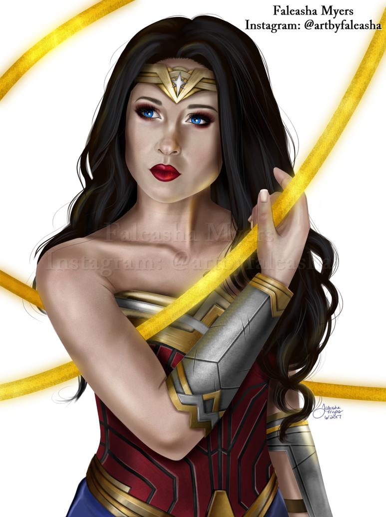 Wonder Woman by Fefe1414