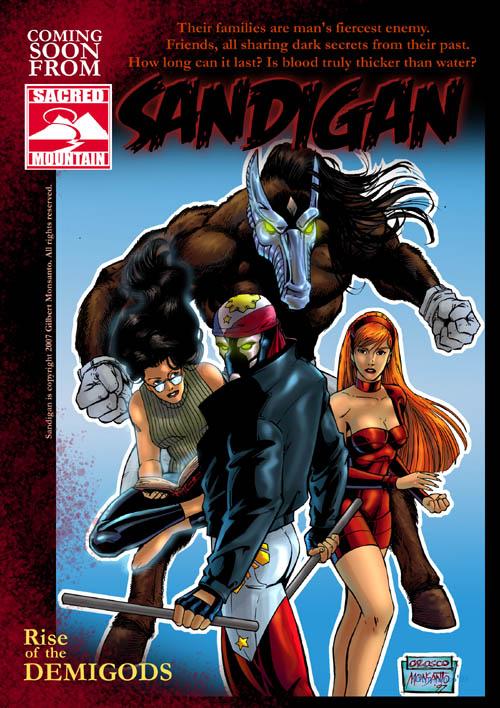 DEMIGODS: SANDIGAN AD by gammaknight