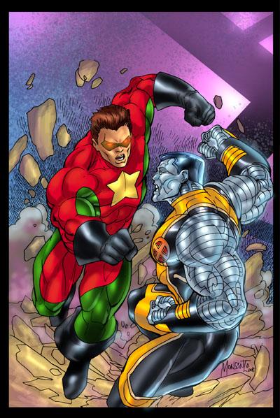 COMRADE HERO vs COLOSSUS by gammaknight