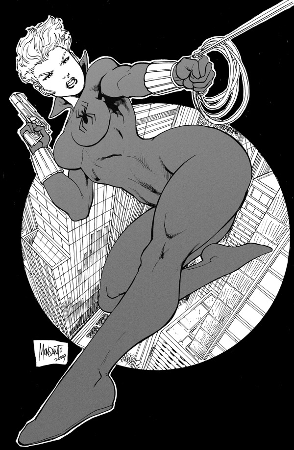black widow by gammaknight